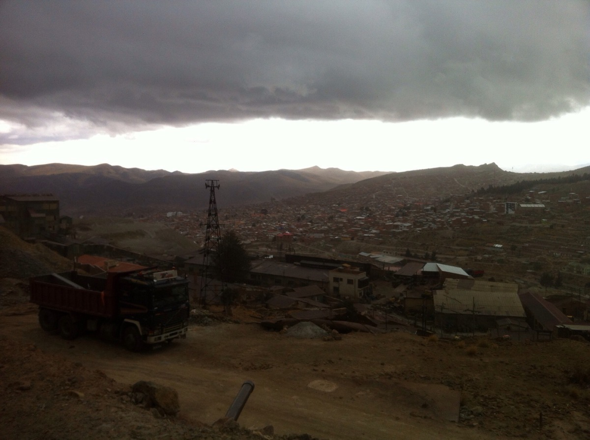 Ciudad gris: Potosí, Bolivia