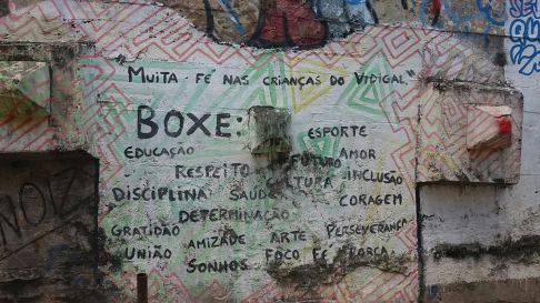 boxe.instituto todas na luta. vidigal